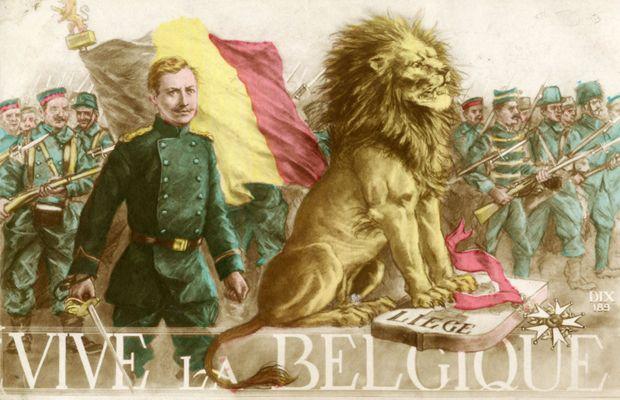 C'est bien à Albert I que les Belges doivent leur taux de pertes extrêmement bas pendant la Grande Guerre…  - Collection privée, Nicolas Mignon ©
