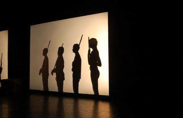 Spectacle d'ombres chinoises, par le groupe scolaire de Tertre-Villerot.  - Tous droits réservés ©