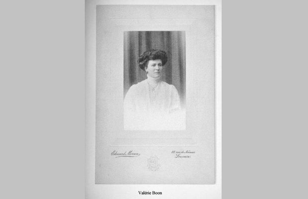 Valérie Boone, l'épouse de Franz Berckmans  - Collecte RTBF/Collection privée Berckmans ©