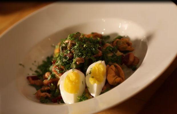 Salade Mont-Bry aux moules et crevettes  - Tous droits réservés ©