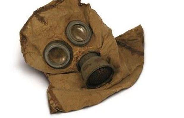 Masque à gaz  - François Bertin –Mémoires d'objets  ©