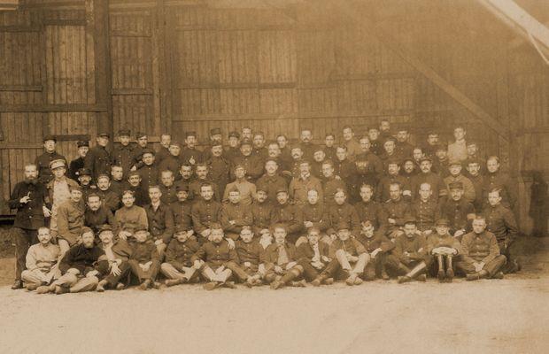 Des prisonniers belges à Soltau  - Tous droits réservés ©