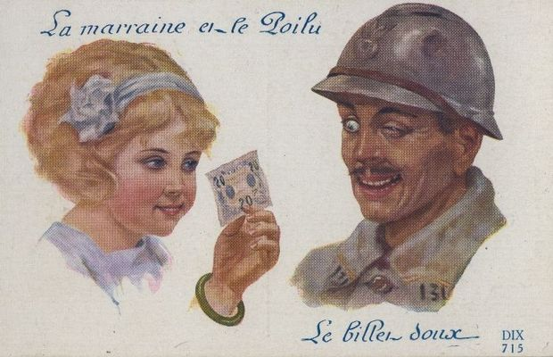 Some soldiers were so desperate for a wartime lady penfriend that they even placed advertisements in the newspapers!  - Private collection, M. Freddy Billiet ©
