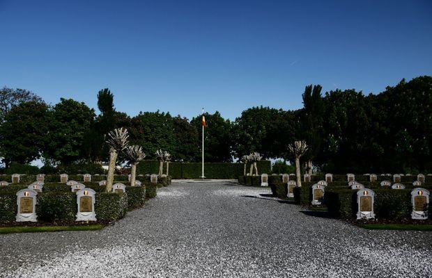 Le cimetière militaire belge de Ramskapelle  - Picasa ©