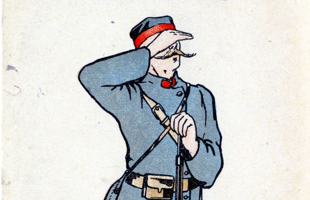 """1914 war – Belgian soldier""  