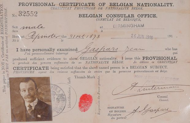 Leaving the homeland: Belgian refugees of the First World War  - All rights reserved ©