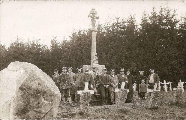 Calvaire breton à Maissin  - Collection privée, collecte RTBF ©