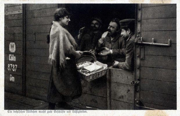 Les missions allemandes: la sécurité du rail  - Collection privée, M. Nicolas Mignon ©