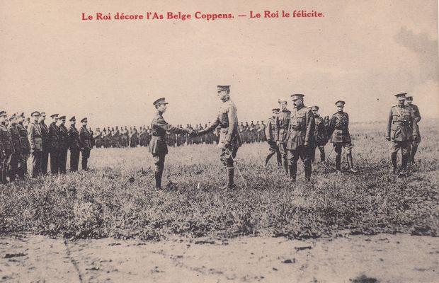 C'est durant Grande Guerre que débute l'intérêt de la famille royale belge pour l'aviation!  - Collection privée, Ncolas Mignon ©