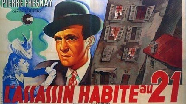 """Premier film de Henri-George Clouzot : """"L'Assassin habite au 21"""""""