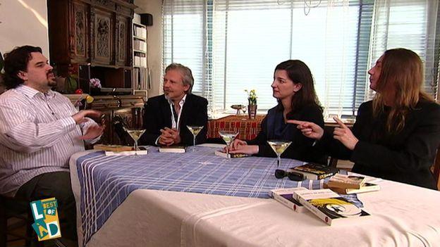 Michel Dufranne, Thierry Bellefroid, Marianne Cosserat et Gorian Delpâture