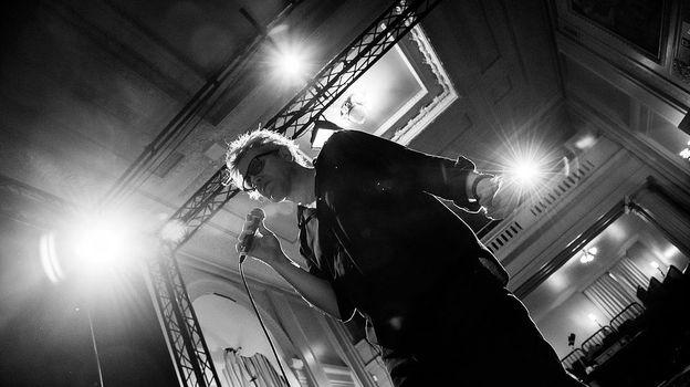 Pierre Dungen, chanteur de Bertier