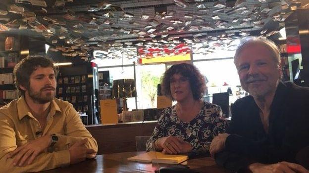Antoine Wauters, Nathalie Van Hauwert et Thierry Bellefroid
