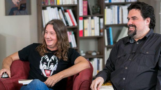 Gorian Delpâture et Michel Dufranne
