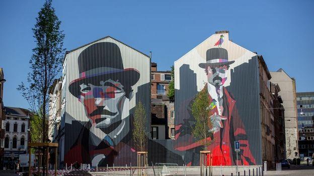 Le street art donne de l'âme à Charleroi