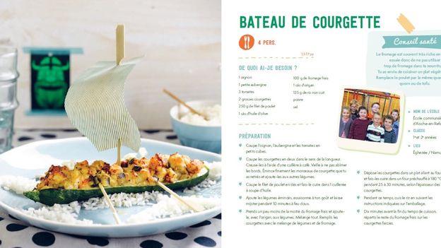 BATEAU DE COURGETTES