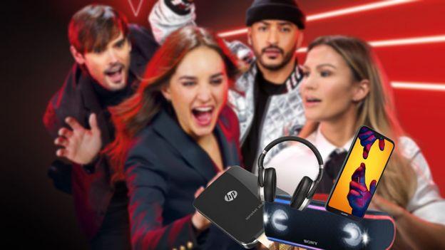Remportez de nombreux cadeaux avec The Voice Belgique