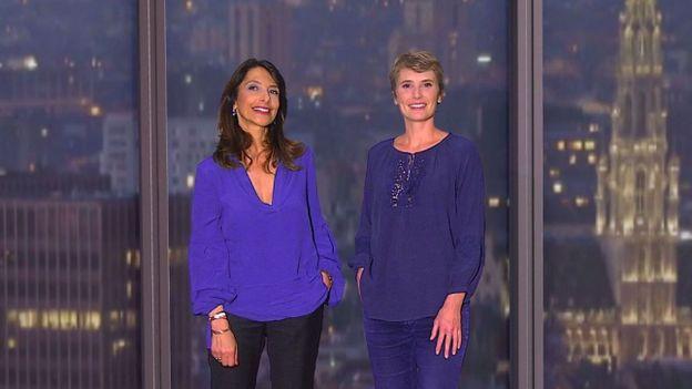 Olivia Gazalé et Carline Veyt