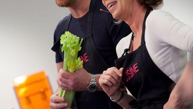 Martine Fallon et Gerald