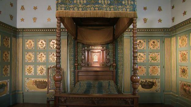 La Chambre bleue, rappel de la Renaissance française