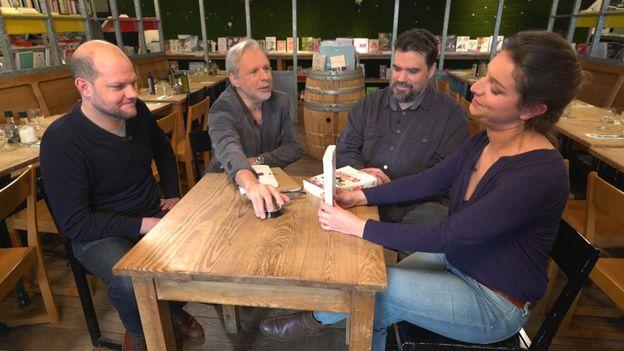 Yoann Blanc, Thierry Bellefroid, Michel Dufranne et Marie Van Cutsem