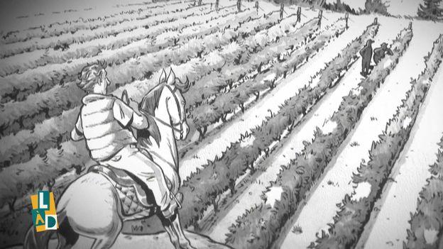 """""""Un grand Bourgogne oublié"""", BD signée Hervé Richez, Manu Guillot et Boris Guilloteau - Ed. Grand Angle"""