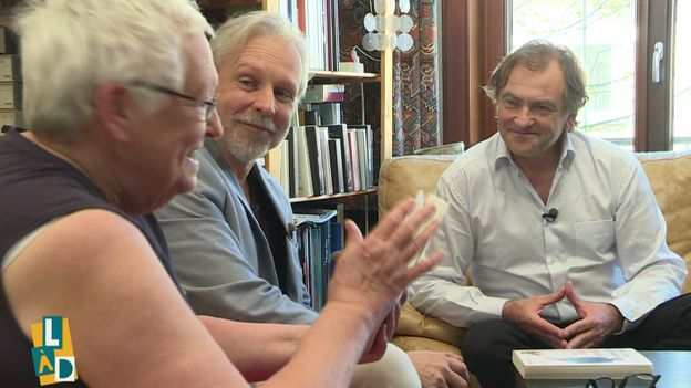 Marie Gérard, Thierry Bellefroid et Didier van Cauwelaert