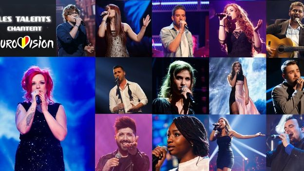 Les Talents de The Voice Belgique chantent l'Eurovision