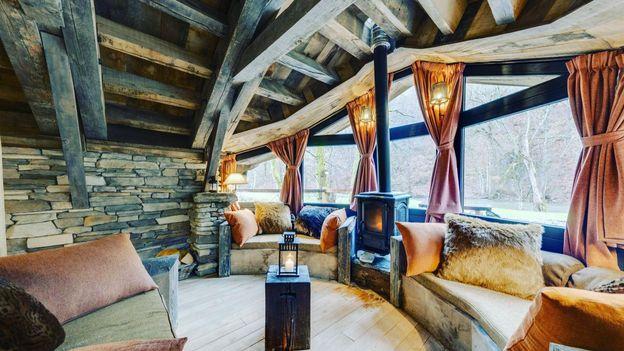 Living Room - La Cabane d'Ernest