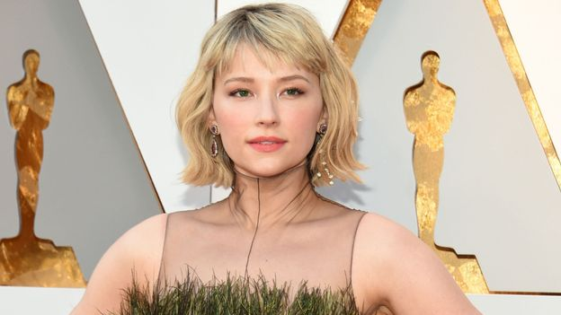 Haley Bennett... en fougère !?