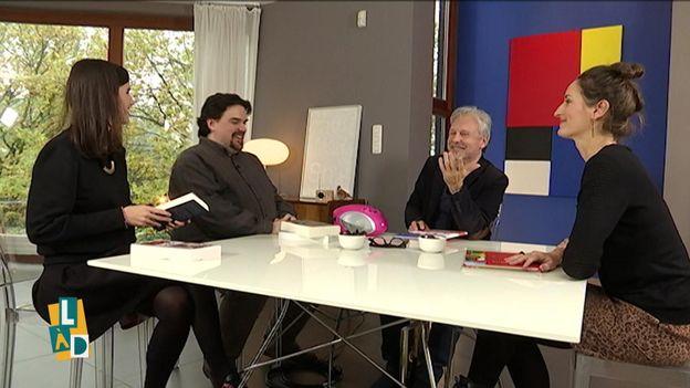 Myriam Leroy, Michel Dufranne, Thierry Bellefroid et Justine Laezza