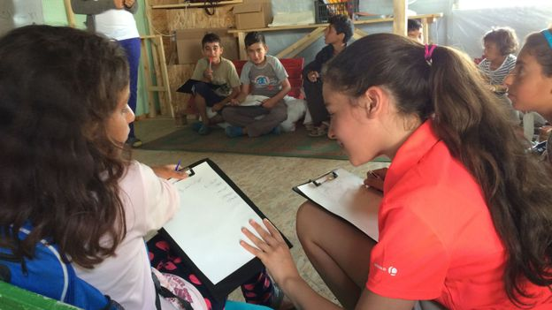 Dans les camps de réfugiés en Grèce