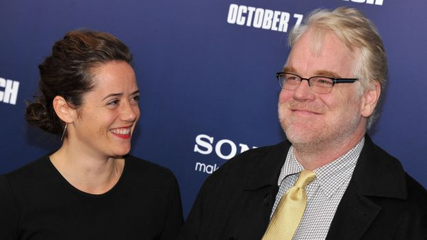 Mimi O'Donnell et Philip Seymour Hoffman