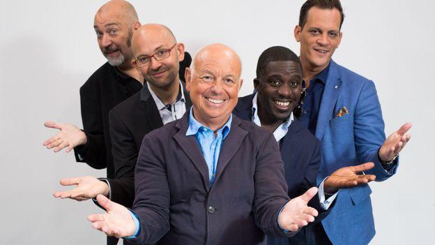 """""""Les enfants de Choeur"""" avec Jean-Jacques Brunin, Kody, James Deano, Dominique Watrin, Christophe Bourdon"""