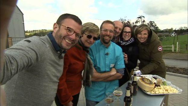 Selfie aux saveurs de l'apéro de Ciney !