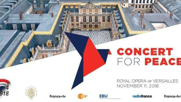 Concert for Peace - Le Centenaire de l'Armistice