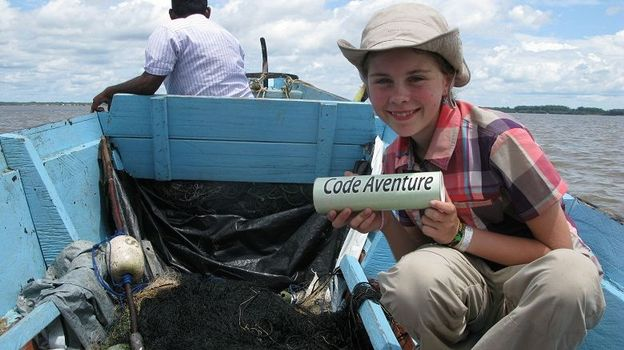 Louise au Surinam