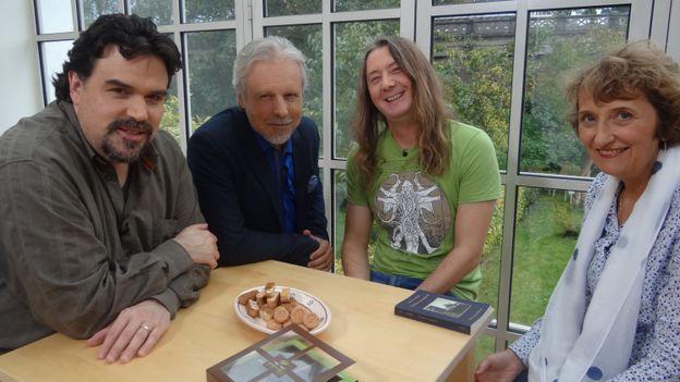Michel Dufranne, Thierry Bellefroid, Gorian Delpâture et Anne Hubrecht