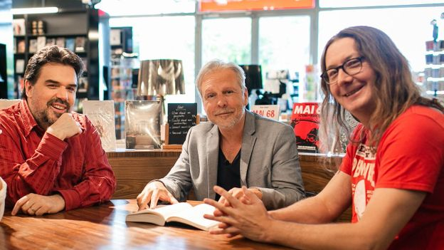 Michel Dufranne, Thierry Bellefroid et Gorian Delpâture