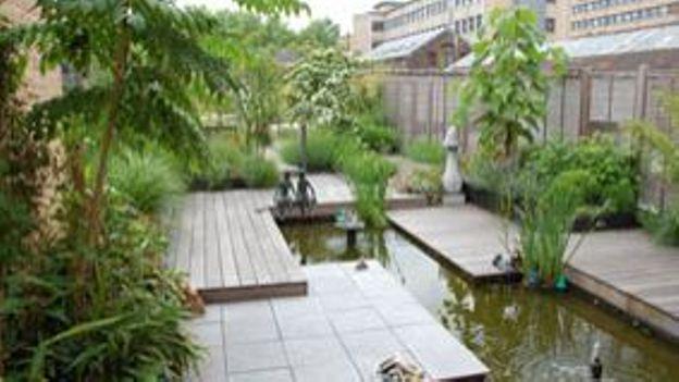 Un jardin sur le toit rtbf jardins loisirs - Jardin sur les toits ...