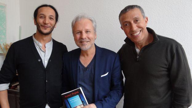Toufik Cherifi, Thierry Bellefroid et Azouz Begag