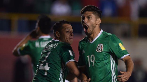 Les Mexicains sans complexe devant la Mannschaft