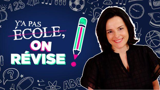 Y'a pas école, on révise ! Le nouvelle émission de la RTBF présentée par Gwenaelle Dekegeleer