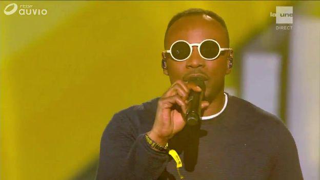 MC Solaar interprète son nouveau titre 'Aiwa' dans la finale de The Voice Belgique