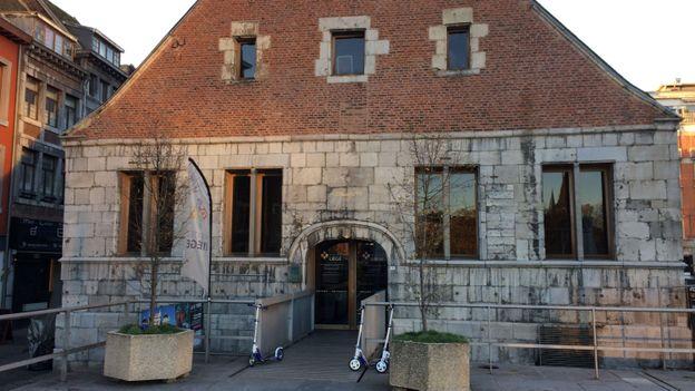 L'Office du Tourisme de Liège à la Halle aux Viandes