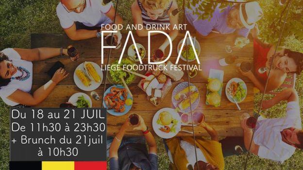Le premier Food Truck Festival au cœur du parc d'Avroy à Liège