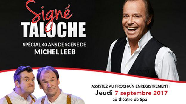 Michel Leeb fête ses 40 ans de carrière dans Signé Taloche