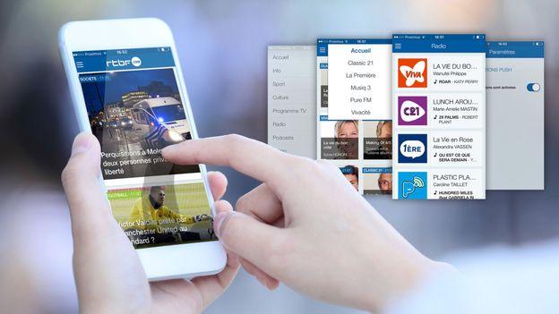 L'app mobile RTBF s'améliore