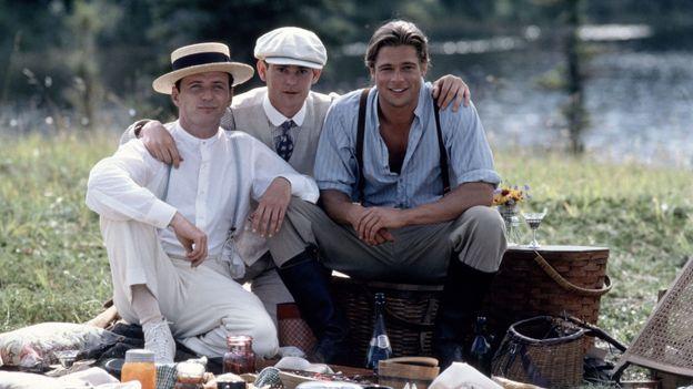 """Brad Pitt dans """"Légendes d'automne"""" sorti en 1994"""