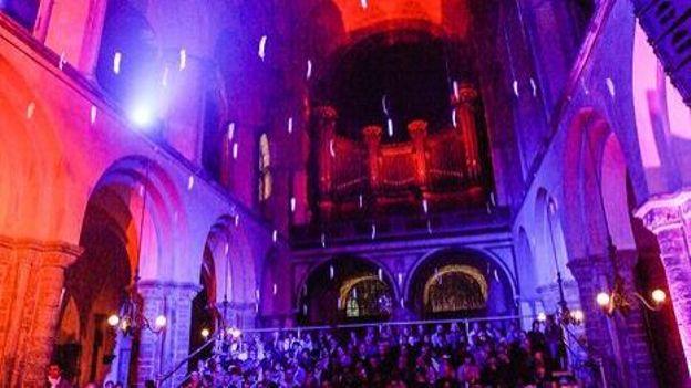 Tournai accueille chaque année dans le cadre prestigieux de sa cathédrale un festival de musique classique de haut niveau !